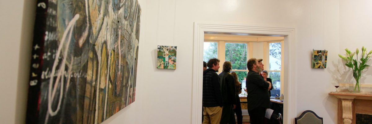 Opening night photos from Brett a'Court's exhibition. - Header Image