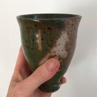 Green beaker